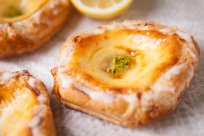 NYチーズケーキ~レモンソース~