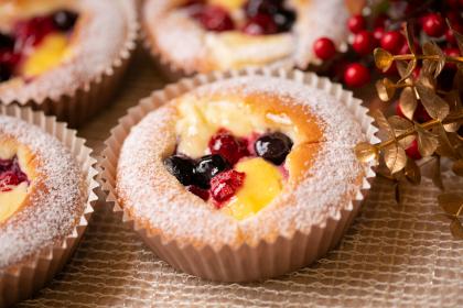 赤い実のKiriチーズケーキ