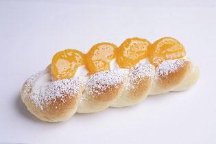 昔なつかしのみかんパン